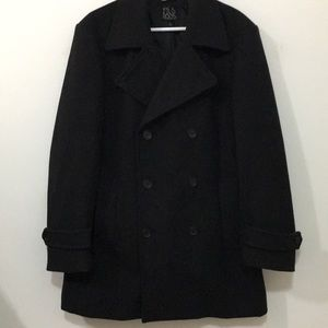 Black Jos. A Bank Pea Coat